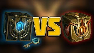 The Difference Between Hextech and Masterwork Chests