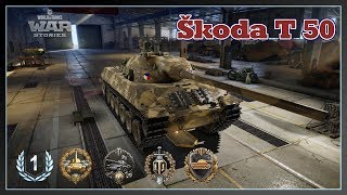 World of Tanks // Škoda T 50 // 1st Class // Top Gun // Xbox One