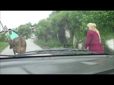 A full video of drive from Manali to