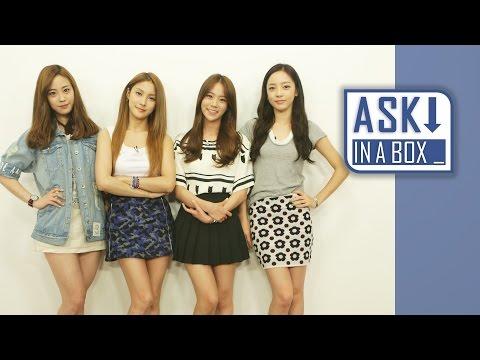 ASK IN A BOX: KARA(??) _ Mamma Mia(????) [ENG/JPN/CHN SUB]