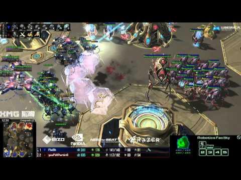 Finał - TvP- Parting vs Flash - Over - g4 - Starcraft 2 HD