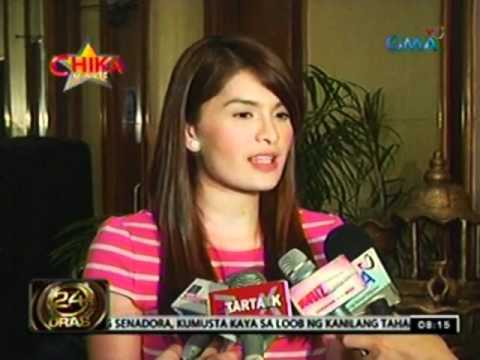 24 Oras: Pauleen Luna At Vic Sotto, may relasyon nga ba?
