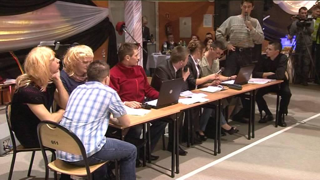 Skecz studniówkowy elektryk Radomsko 2013