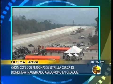 TVC Hoy Mismo- Mueren cuatro personas al estrellarse avioneta en Gracias lempira