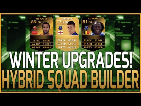 FIFA 14 Ultimate Team   8 Upgraded Player HYBRID SQUAD BUILDER! Ft. 81 IF Lukaku. 86 IF Benatia