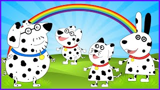 Peppa Pig 101 Dalmatians se Disfraza I Disney One Hundred and One Dalmatians I New Disguise