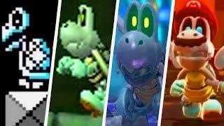 Evolution of Dry Bones in Super Mario Games (1988 - 2017)