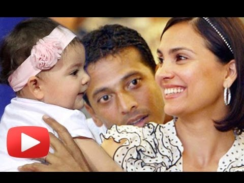 First Look Of Lara Dutta And Mahesh Bhupati's Daughter ! [HD]