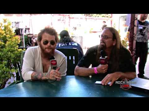 Asking Alexandria ~ Danny Worsnop Interview ~ Mayhem Fest 2014 On Rock Hard Live video