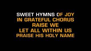 Josh Groban O Holy Night Karaoke