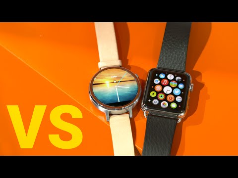 Moto 360 (2015) vs Apple Watch!