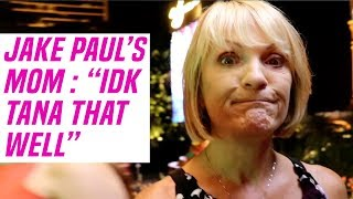 "Jake Paul's Mom at Tana Mongeau Wedding: ""I Don't Know Tana That Well"""