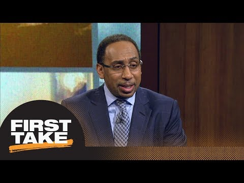 Stephen A. would be 'stunned' if LeBron James lost first round of NBA playoffs | First Take | ESPN