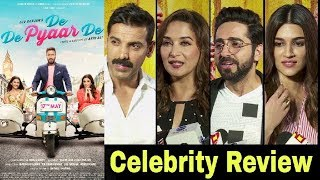 De De Pyaar De Movie REVIEW By Bollywood CELEBRITIES | De De Pyar De Review