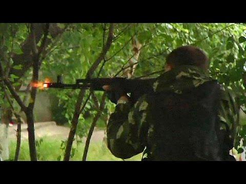 Ukrainian army enters Luhansk in heavy fighting