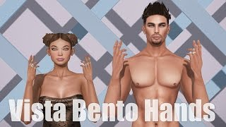 Vista Bento Hands for Males & Females in Second Life