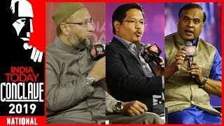 Citizenship Bill Debate: Asaduddin Owaisi, Conrad Sangma, Himanta Biswa Sarma   IT Conclave 2019