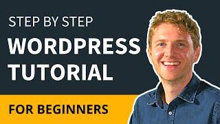 WordPress Tutorial For Beginners Step by Step 2018