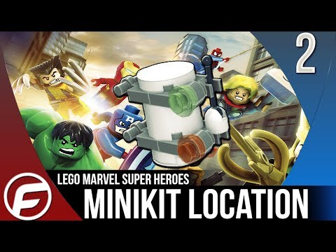 LEGO Marvel Super Heroes ALL MINIKIT LOCATIONS Time Square Off Gameplay Let's Play Playthrough