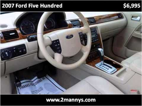 2007 Ford Five Hundred Used Cars Union City NJ