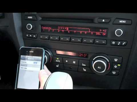 pairing your iphone with bmw professional radio youtube. Black Bedroom Furniture Sets. Home Design Ideas