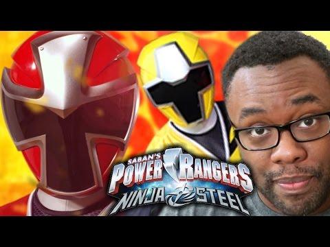 POWER RANGERS NINJA STEEL Premiere Review & Recap (Ep. 1-2) #NinjaSteel