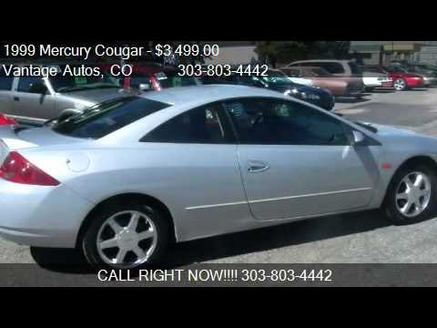 1999 Mercury Cougar V6 - for sale in Denver, CO 80239