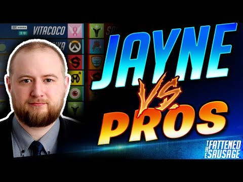 Jayne Plays Against OVERWATCH PROS!! Can He Beat The Best?!