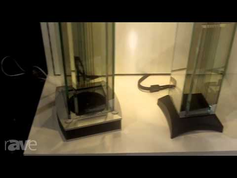 CEDIA 2013: Waterfall Audio Shows its Glass Speakers
