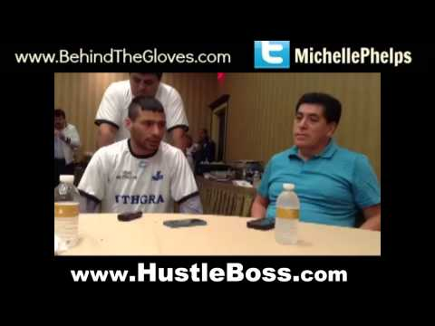 Lucas Matthysse says that Lamont Peterson will feel his power on Saturday night
