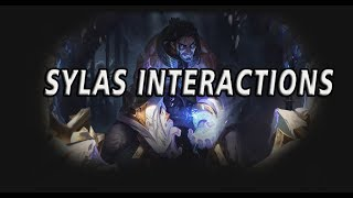 Sylas Interactions With Varied Ultimates | League of Legends | Sylas