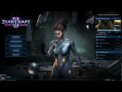 StarCraft 2: Heart of the Swarm - Gameplay de la campaña (HD)