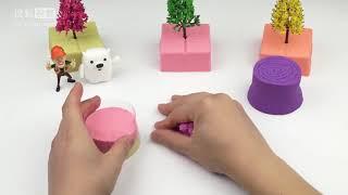 Đồ chơi đất nặn | Land toys Block Bear Park chap 27