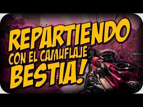 REPARTIENDO CON EL CAMUFLAJE BESTIA!! - BLACK OPS 2