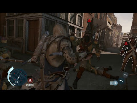 Assassin's Creed III - Contra-Ataque Mortal Duplo [COMPILAÇÃO]