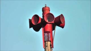 Federal Signal STL-10 Fire Siren Test Attack Signal