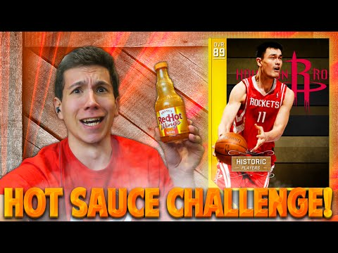 YAO MING HOT SAUCE CHALLENGE! NBA 2K16 MYTEAM! EPIC FAIL!