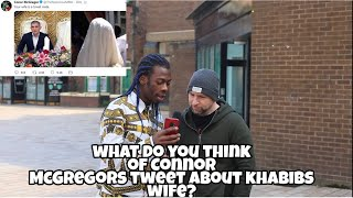 What Public Think About Conor McGregor's Tweet About Khabib's Wife
