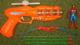 Amazing Musical Toy Gun with Light and Sound - Toy Guns Bow Arrow Toys for Kids! Nursery Rhymes Song