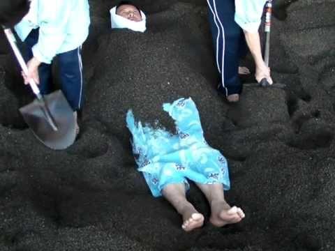 鹿児島指宿温泉の砂湯