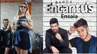 Banda Encantus ensaia Dilsinho e Zé Felipe (Set 2018)