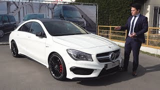 NEW Mercedes CLA 45 AMG - FULL Review BRUTAL Drive Sound Interior Exterior