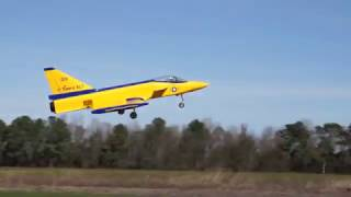 Sabre XLT RC jet crashes into a tree at Eutawville, SC