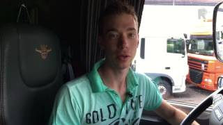 De supervloggertruck van William de Zeeuw