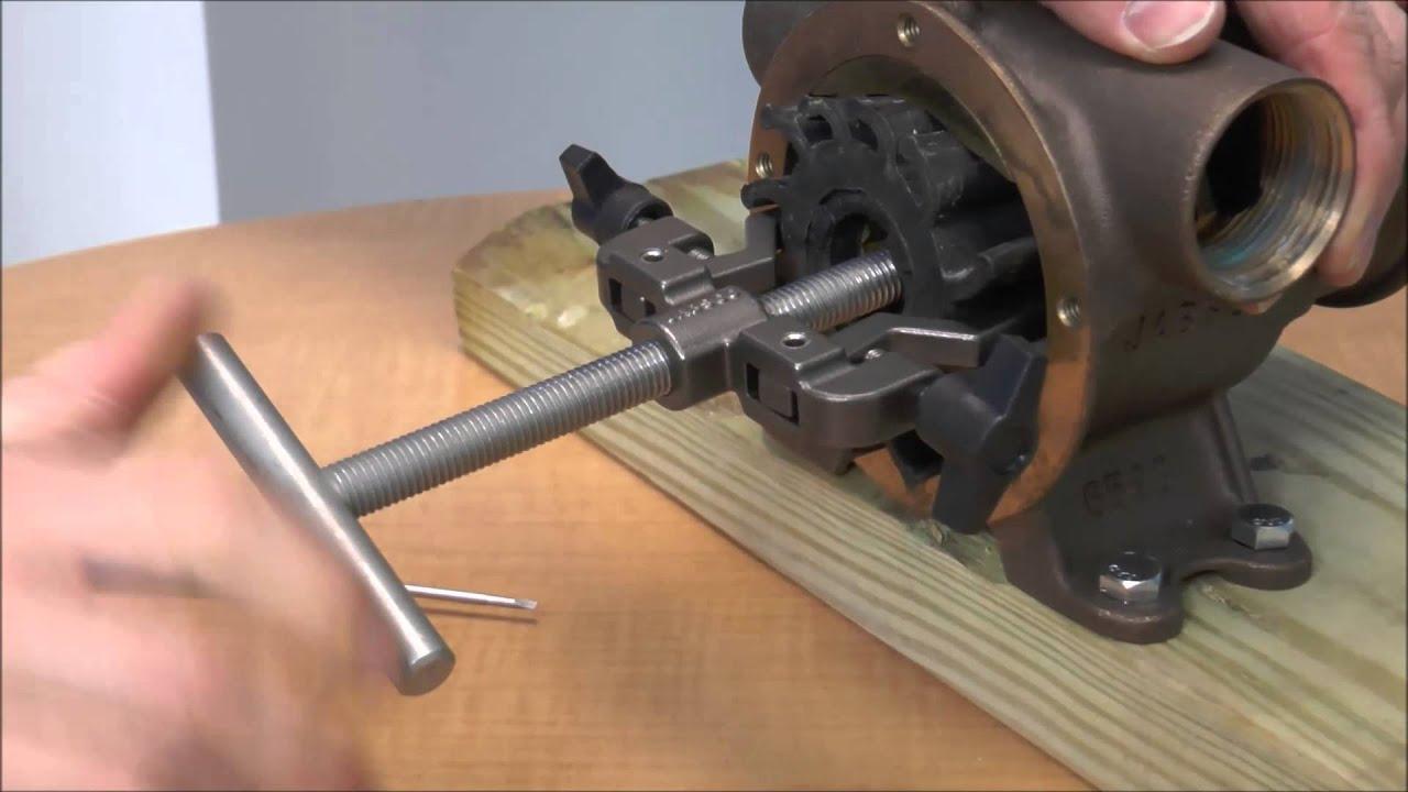 Jabsco - Using an Impeller Puller - PN 50070-0200 et al ...