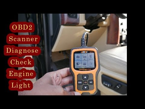 Learn How To Do A Car Diagnostic Using An OBD2 Scanner - Turn Engine Light Off