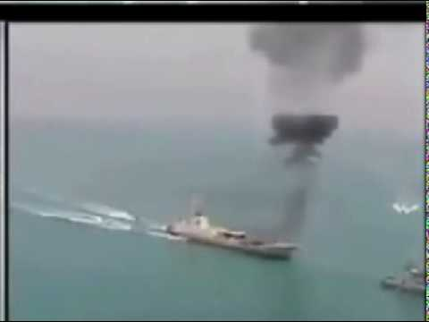 Great Prophet 5 - MISSILE SPEED BOAT ATTACK on vessel in  IRGC War Games