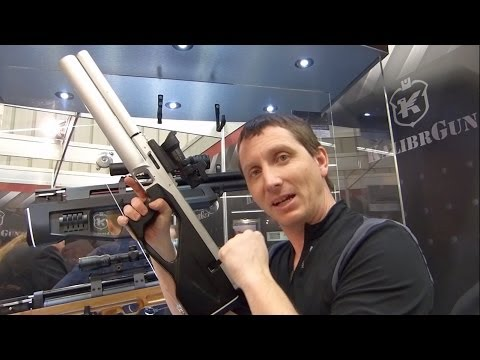 Kalibr Colibri Semi-Automatic Bullpup Air Rifle - IWA 2014