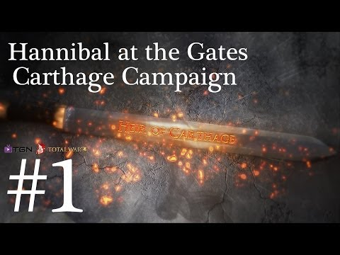 Total War Rome 2 Hannibal at the Gates Campaign Part 1 Freaking Turds