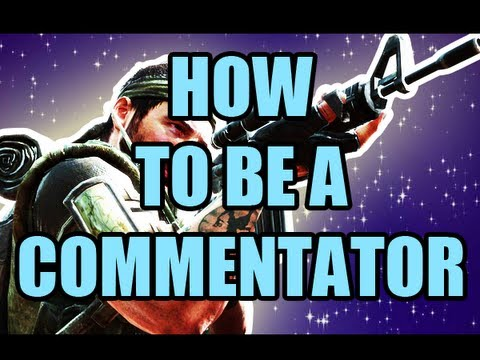 How to be a YouTube Gaming commentator and welcome!